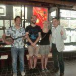 (訪問演奏記:33)『ピースメッセージ展(平和の風)』奈良町資料館にて